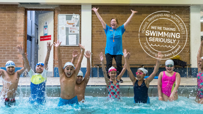 Sign up to the School Swimming and Water Safety Charter