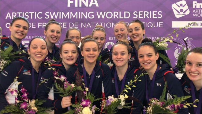 Superb silver for Great Britain at FINA Artistic Swimming World Series