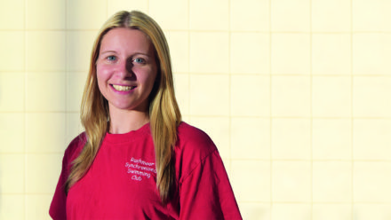 Rushmoor's Hayley Cornick on life as a synchro coach ... and the secret of success