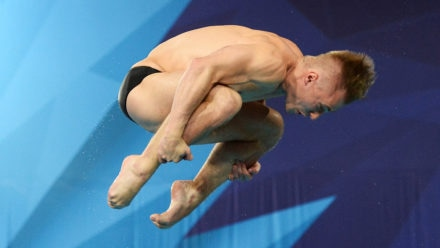 Laugher claims second bronze of FINA Diving World Series