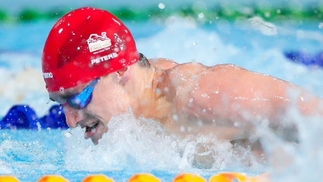 Jacob Peters achieves major qualification in his swimming career