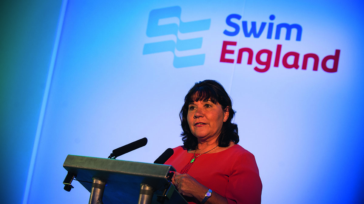Jane Nickerson, Swim England chief executive