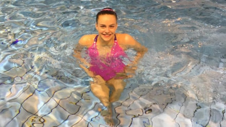 Kate Shortman sets new PB to finish fourth in Artistic Swimming World Series