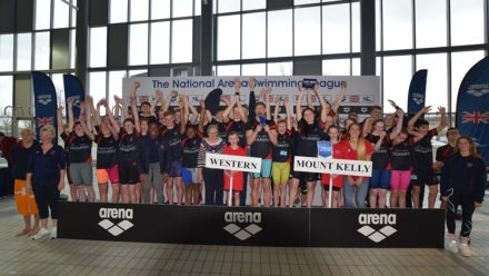 Kelly's heroes claim National Arena Swimming League B final victory