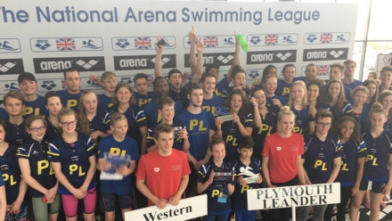 Golden weekend as National Arena Swimming League celebrates 50th cup final