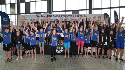 Defending champions Plymouth celebrate golden Arena League victory