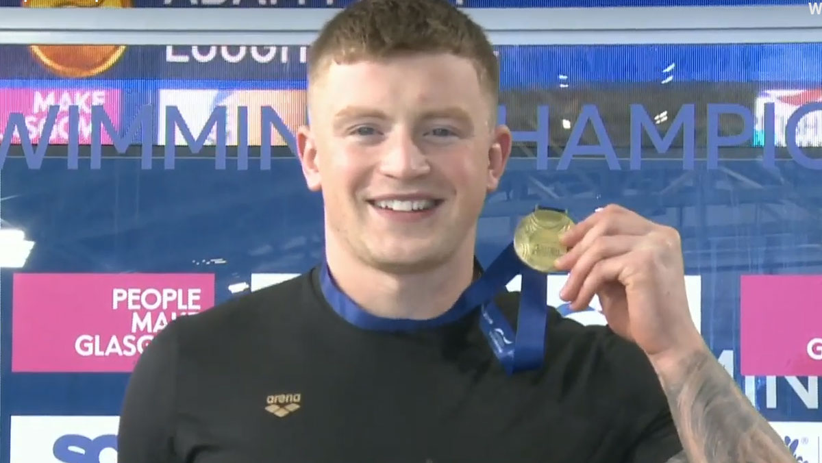 'Anytime, anywhere' says Adam Peaty as he takes his second British title