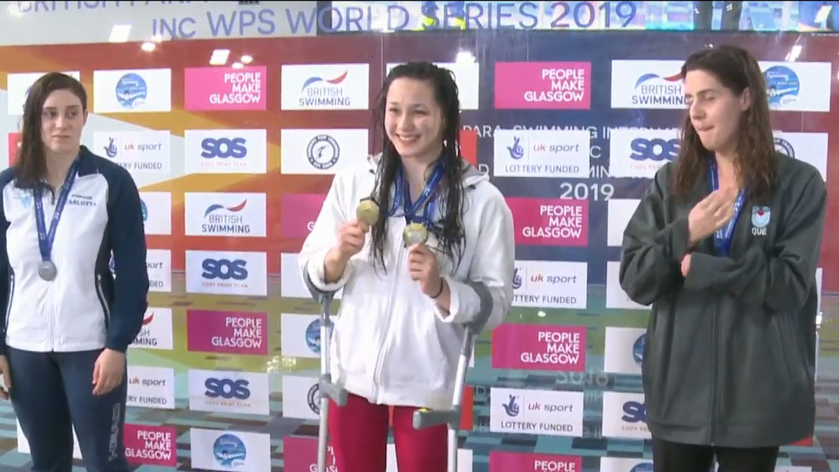 Alice Tai wins World Series gold medal