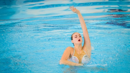 Hampson does solo double at Synchro National Championships