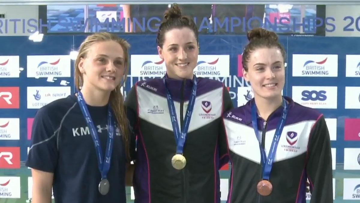 Molly Renshaw wins gold at British Champs 2019