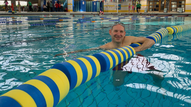 Swimming has 'given me my life back' after chronic pain