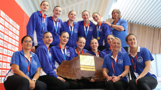 Reading Royals win Redwood Trophy at Synchro Nationals