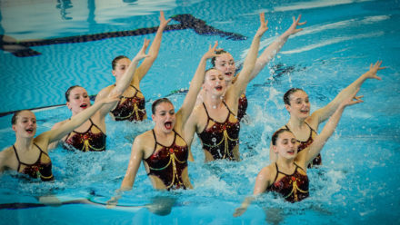 Reading Royals win Tech Team gold at Synchro Nationals
