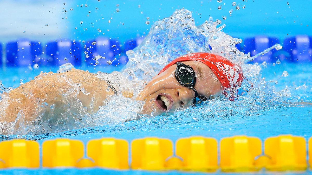 British para-swimmers on world stage in Glasgow