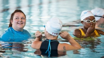 Looking for advice on becoming a swimming teacher?