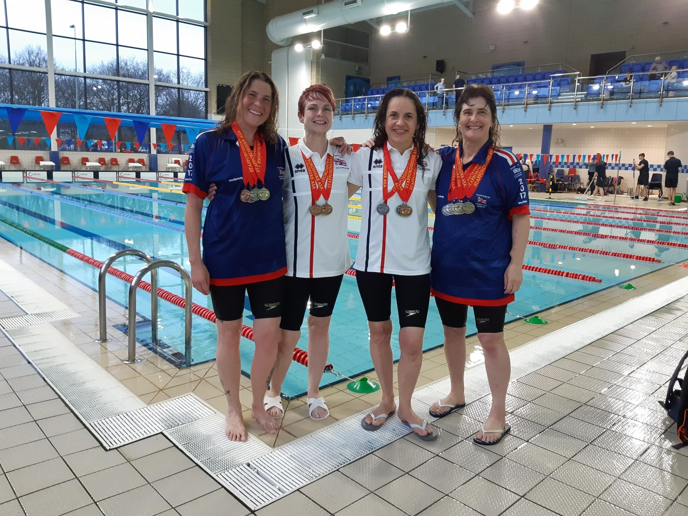 The Transplant Sport Swimming Club enjoyed success and raised awareness in Staffordshire.