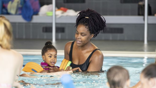 SEQ Level 2 Teaching Swimming to Babies and Toddlers