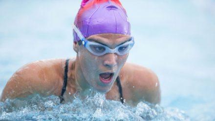 Improve your breaststroke technique training session
