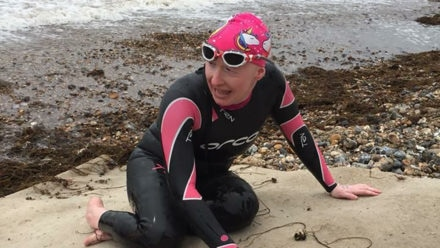 'I'd be dead if it wasn't for swimming ...  now I want to swim the channel'