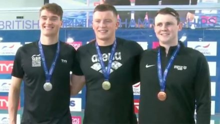 Adam Peaty powers to British title with fastest time in world this year