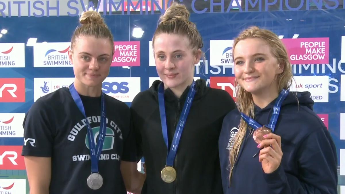Siobhan-Marie O'Connor won the women's 200m Individual Medley at the British Swimming Championships