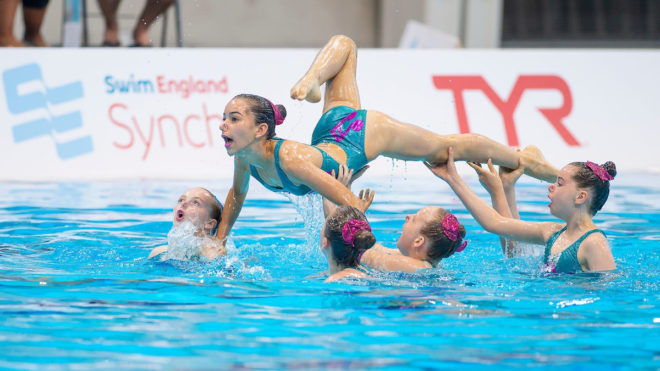 Swim England Midlands Synchro Summer Camp 2019