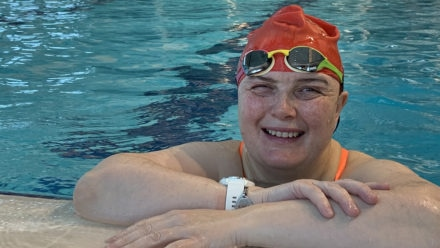 Why going swimming has been 'absolutely life-changing for my physical health'
