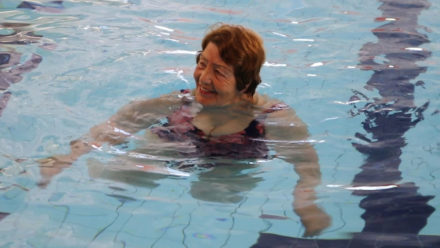 Swimming helps Derbyshire group 'live well' with dementia