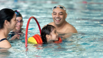 Swim England and Disney team up to introduce family fun swim sessions