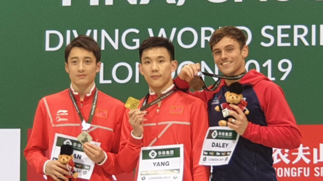 Tom Daley seals World Series crown with bronze in London