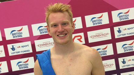 James Heatly wins first ever individual title at British Diving Championships