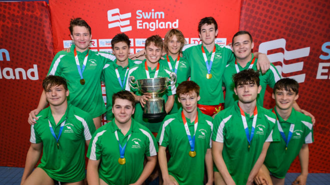 Newton Abbot's U19 boys strike gold at water polo nationals