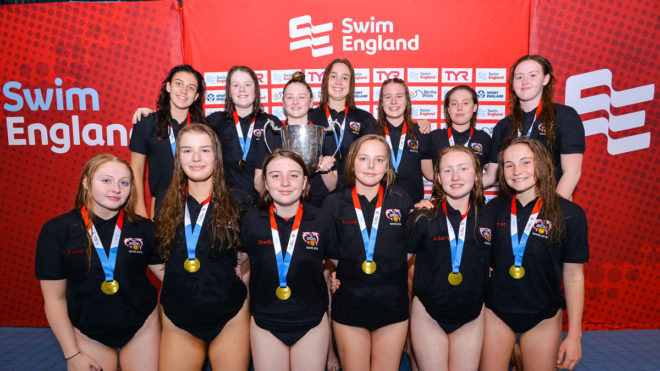 Sheffield clinch U17 Girls national water polo title