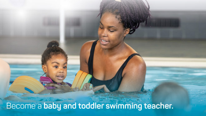 New Swim England Babies and Toddlers qualification