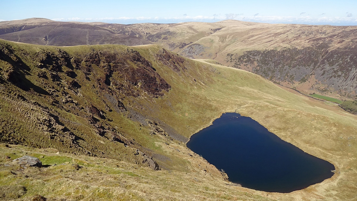 Bowscale Tarn in the Lake District