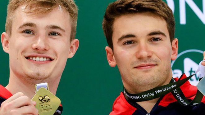 First ever one-two for Great Britain at FINA Diving World Series