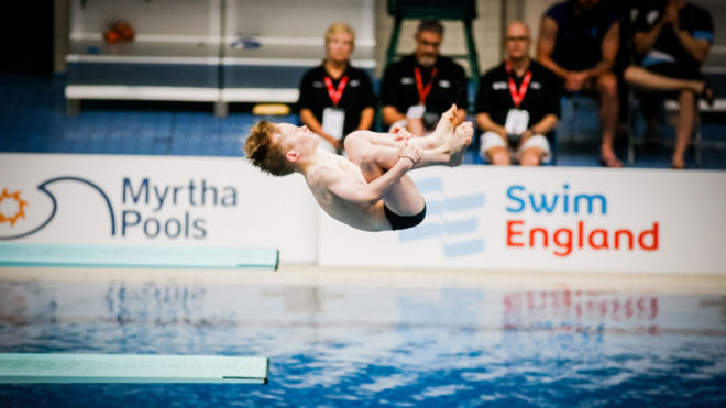 Archie Biggin shows off potential as he sets new PB on way to gold