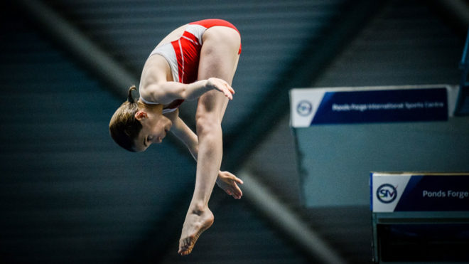 Corin Burrows Mackley seals hat-trick of diving national titles for Crystal Palace