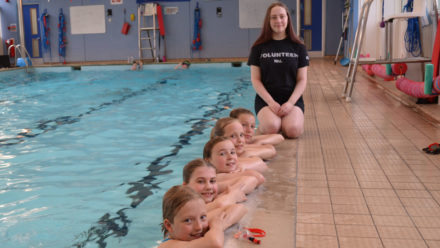 How volunteer Esther, 14, is building her coaching foundations early