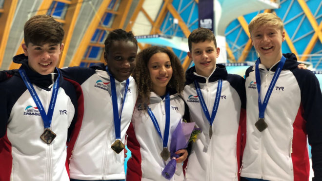 Bent-Ashmeil's gold among four medals as young British divers thrive in Kazan