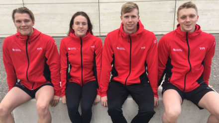 Swimming stars of the future take on international talent in France