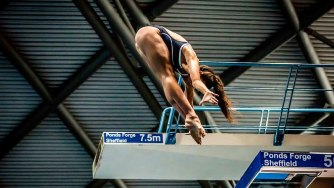 Georgia Davenport's journey from athlete to diving coach