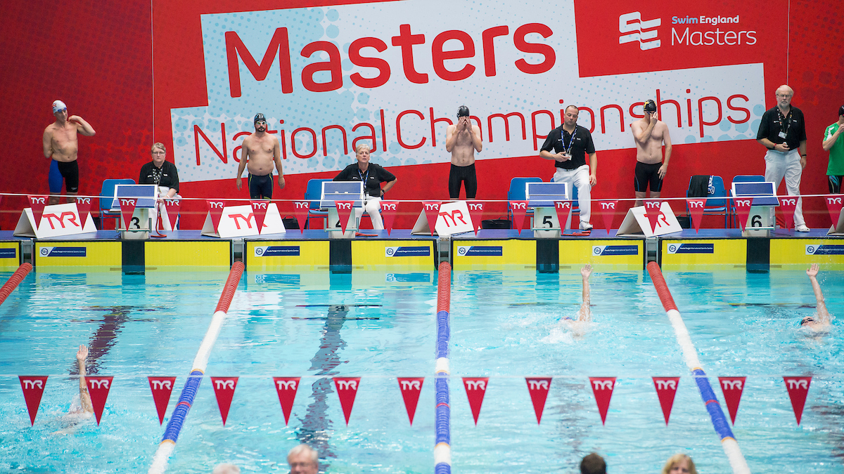 Compete at the Swim England Masters National Championships 2019