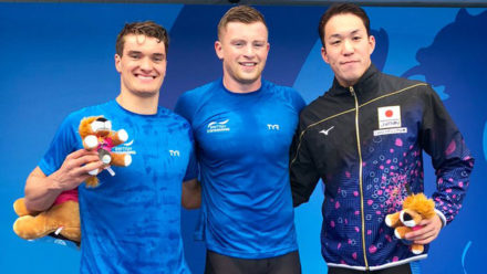 Adam Peaty breaks yet another record to beat James Wilby