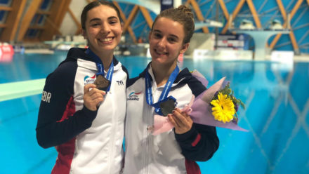 Double medal joy for Britain at European Junior Diving Championships