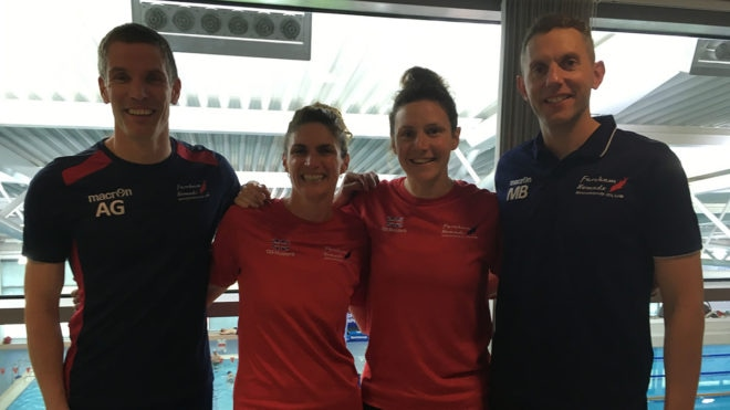 Records tumble as almost 700 swimmers compete at British Masters Championships
