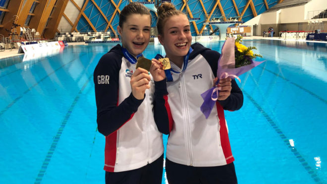 Britain win gold as success continues at European Junior Diving Championships