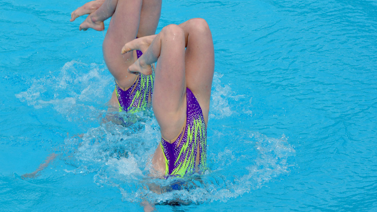 Kate Shortman and Isabelle Thorpe: European Junior Championships 2019 Duet Tech