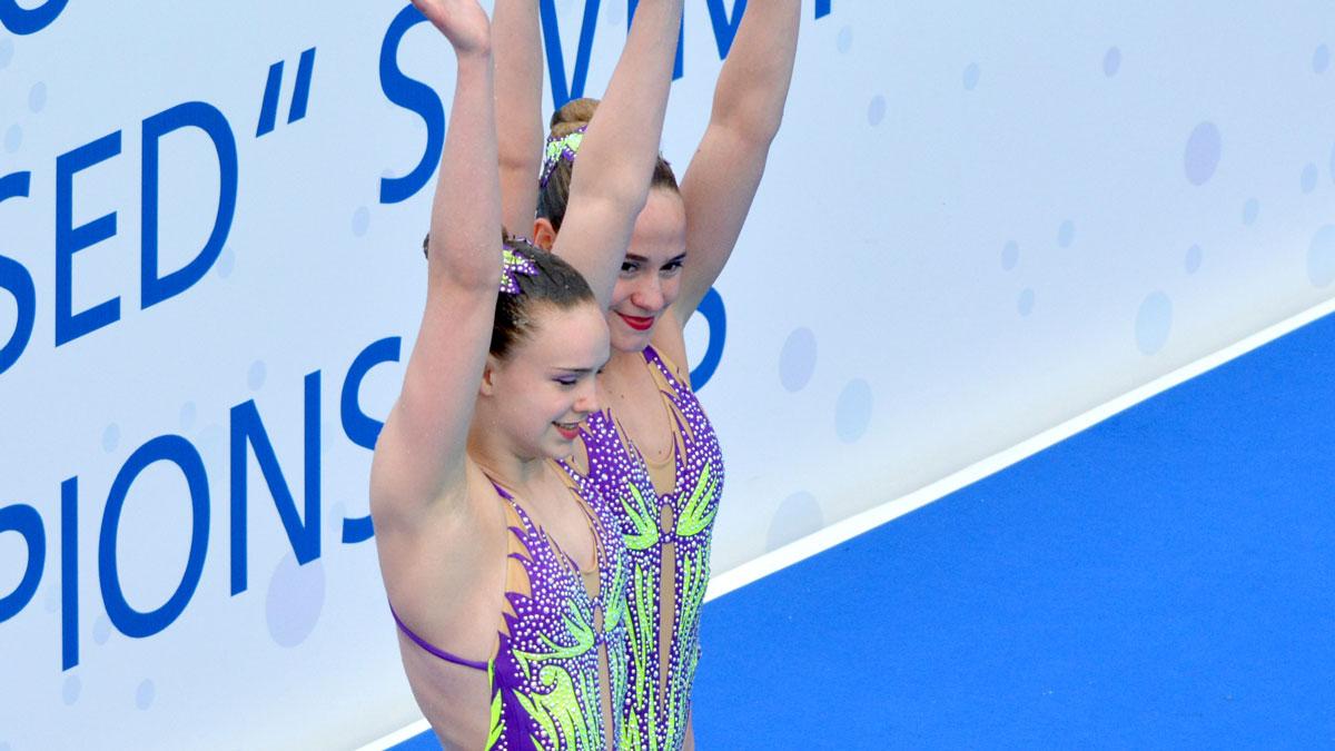 Kate Shortman and Isabelle Thorpe: European Junior Championships 2019 Duet Tech