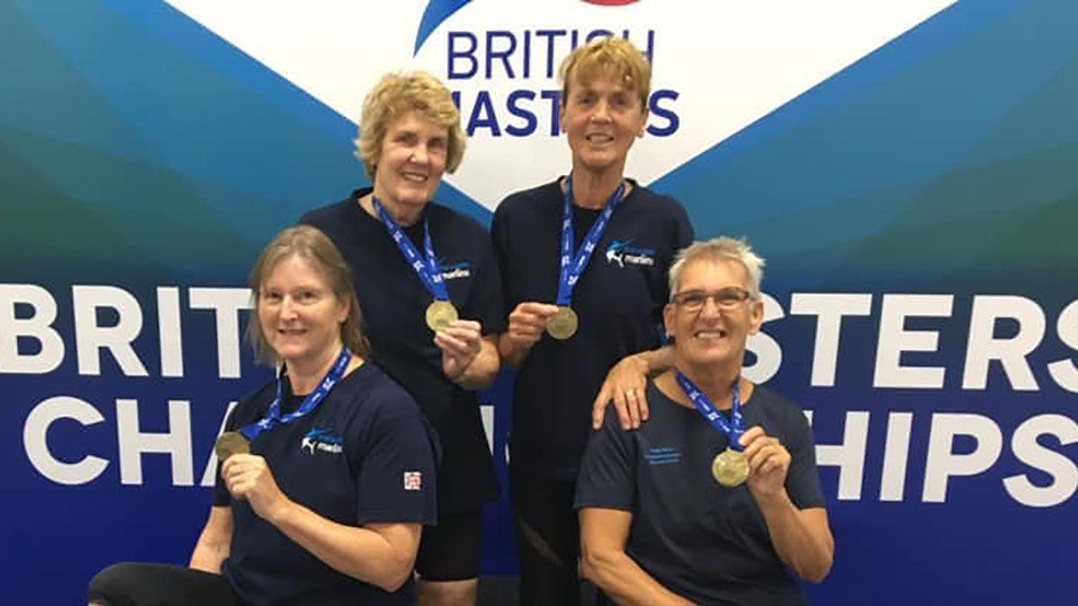 Mid Sussex Marlins set a new world record at the British Masters Championships 2019